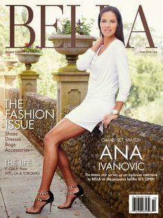 "Ana Ivanovic for Bella magazine:  ""One of the downsides of the job is that I am travelling so much, and I don't have so much time to go out and socialise, as people who have a more traditional job might do, so it's hard. I don't meet too many guys."