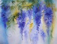 wisteria paintings - Bing images