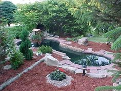 backyard fish ponds   Your backyard fish pond does call for maintenance to help keep it ...