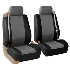 Fia OE37-25 GRAY Custom Fit Front Seat Cover Split Seat 40//20//40 Gray Tweed,