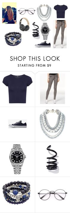 """""""Outfit"""" by survivor-girl ❤ liked on Polyvore featuring WearAll, Flying Monkey, Rolex, Proenza Schouler and Beats by Dr. Dre"""