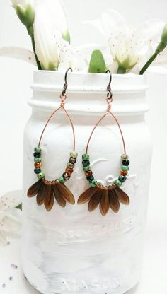 Check out this item in my Etsy shop https://www.etsy.com/listing/238114510/bohemian-style-earrings-boho-chic