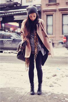 camel coat - a winter necessity