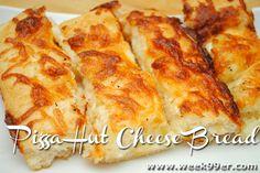Gluten Free Pizza Hut Cheese Bread