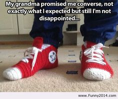 My grandma converse