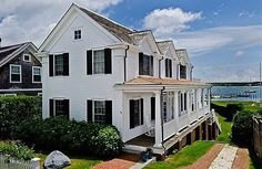 A Modest Three-Bed on Edgartown Harbor?  Located on one of the country's most treasured summer escapes, Edgartown, Mass.