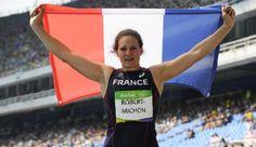 Mélina Robert-Michon, vice-championne olympique du lancer de disque aux JO de Rio 2016