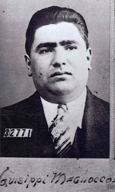 Giuseppe 'Fat Man' Magliocco founding Boss of Magliocco Family which would later become the Colombo Family