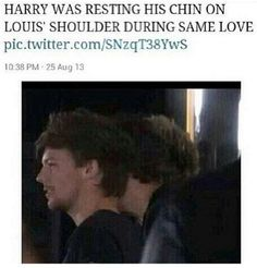 *coughs* *clutches heart* *dies* awww! Oh my god! I'm done! Larry shippers shpuld talk about this more like this is huge evidence