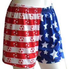 Sportabella USA Soccer Loose Shorts - $33 - Sportabella.com