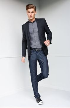 Nigel Linen-Wool Sport Coat | Sport Coats & Jeans | Pinterest