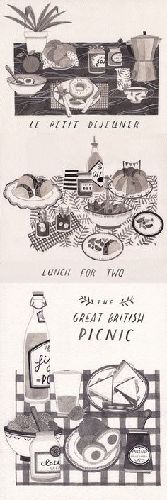Laura Callaghan Lunches in different cultures- French, American and British