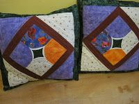 Cojines patchwork de manoskuriosas.com