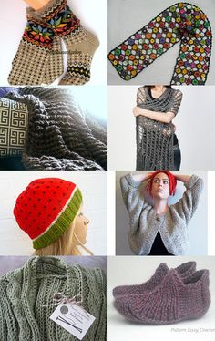 Knitting by Michal Adler-Shalev on Etsy--Pinned with TreasuryPin.com