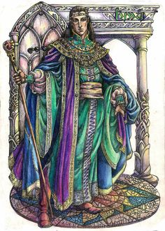 Noldorin King by Righon on DeviantArt - Finwe Noldoran was the first High King of the Noldor, who led his Elven people on the journey from Middle-earth to Valinor in the blessed realm of Aman. he was Miriel Serinde's husband