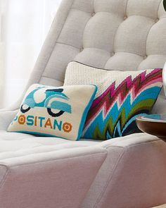 What do Vespas, ikat prints and Jonathan Adler have in common? Surprise: your couch!  Jonathan Adler via Neiman Marcus