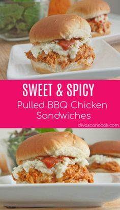 Sweet & Spicy Pulled BBQ Chicken Sandwiches Recipe| Topped With Sweet & Tangy BBQ Sauce! 😋 😋 😋 😋 😋 😋 🍗 🍗 🍗 🍗 🍗 🍗 🍗 🍗 🍗 🍗 🍗 🍗 🍗 🍗 🍗 🍗 🍗 🍗 🍗 🍗 🌶️ 🌶️ 🌶️ 🌶️ 🌶️ 🌶️ 🌶️ 🌶️ 🌶️  #pulledchicken #BBQsauce #coleslaw #lunch #sandwiches #dinner #weeknightmeals #spicy #tangy