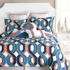 Trina Turk Coastline Nautical Queen Comforter Set
