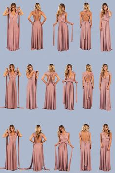 Clarita Maxi Dress - Mauve