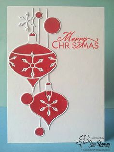Sue's Card Craft: Merry Christmas