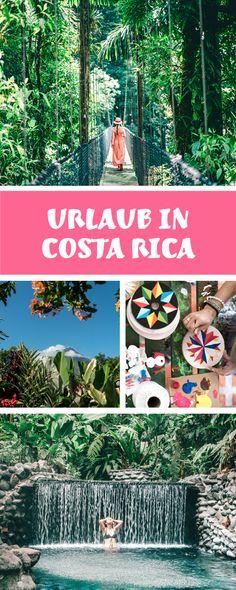 Costa Rica Reisetipps – alles was ihr sehen und wissen müsst. Im Regenwald übernachten, Faultiere beobachten und im heißen Vulkanwasser baden. Costa Rica in Mittelamerika ist so vielseitigen und auch ein super Surfspot. Alle Infos findet ihr auf www.lilies-diary.com.