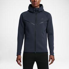 a180be83b8 Nike Men s Tech Fleece Windrunner Hoodie - Carbon Heather S