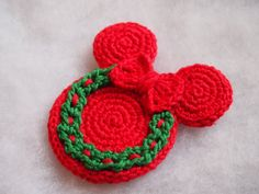 Christmas Ornament Mickey Mouse Minnie Mouse crochet pattern | Etsy Crochet Socks Pattern, Crochet Patterns, Mickey Mouse, Crochet Disney, Thread Spools, Photo Tutorial, Appliques, Holiday Fun, Fun Crafts