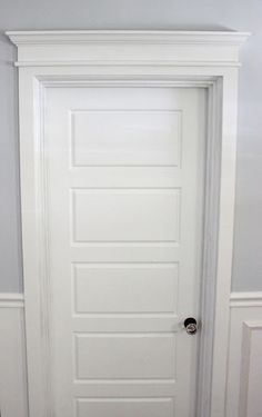 DIY Door Trim Tutorial & Master Bedroom Door Trim Detail with led lights tucked inside ... Pezcame.Com