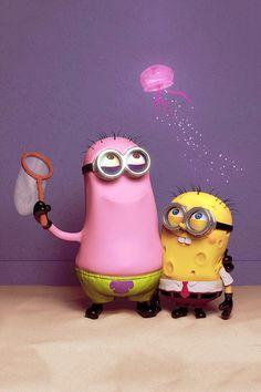 Spongebob VS  Minions