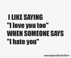 so often