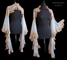 Angelic shrug ivory, Somnia Romantica by M. Turin by SomniaRomantica on DeviantArt Pretty Outfits, Cool Outfits, Fashion Outfits, Costume Prince, Mode Kawaii, Fantasy Dress, Character Outfits, Facon, Look Cool
