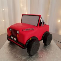 Grooms Jeep Cake