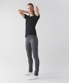 When we first designed our Skinny Groove Pants, we didn't think they could get any better. Turns out we were wrong. We combined the best parts of our Skinny Will and Groove Pant™ and added a roll-down waistband to create a yoga bottom that has the best of all worlds.