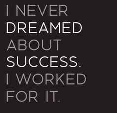 Think big, dream bigger, expect miracles.