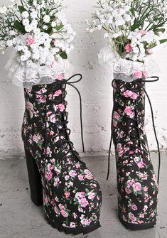 Sugarbaby Secret Garden Boots