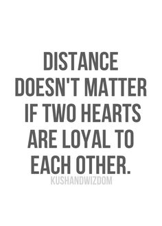 distance & loyalty