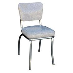 Richardson Seating Cracked Ice Retro Dining Chair with Chrome Base - Luxurious and nostalgic, the Richardson Seating Cracked Ice Retro Dining Chair with Chrome Base treats your guests right. Whether your style is...