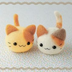 Felt-these are adorable!