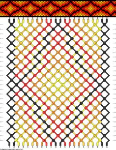 Muster # 57477, Streicher: 22 Zeilen: 26 Farben: 5