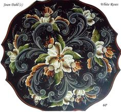 Home Art Pictures Ideas – Modern Home Rosemaling Pattern, Norwegian Rosemaling, Tole Painting Patterns, Wood Patterns, Deco Paint, Scandinavian Folk Art, Art And Architecture, Handmade Art, Flower Art