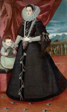 Juan Pantoja de la Cruz, Portrait of a member of the royal family of Spain