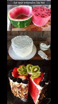 Smart sätt att göra en nyttigare tårta!