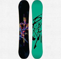 Déjà Vu Flying V Snowboard - Burton Snowboards $419.95