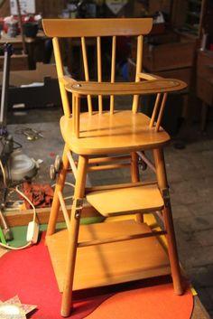 stuhl holzstuhl mit sprossen weiss t rkis shabby shops kunst und upcycling. Black Bedroom Furniture Sets. Home Design Ideas