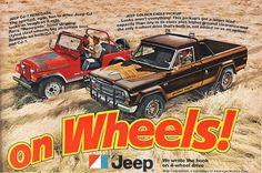 Vintage Jeep Ad! Golden Eagle Pickup!
