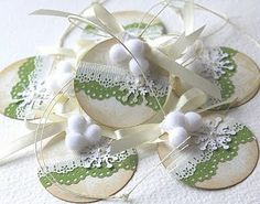 paper lace tags