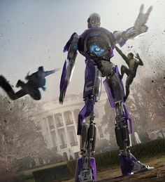 Days Of Future Past concept art by Framestore