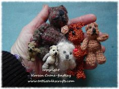 I designed these wee crocheted comfort bears many years ago. I've had requests for a pattern for crocheted comfort bears, and so here is my pattern for crocheters to create wee bears to give …