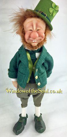 Little Leprechaun by Window of the Soul artist Leigh Jordan