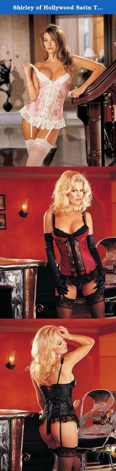 0b6c5d532a4 Shirley of Hollywood Satin Tapestry Flowered Jacquard Longline Bustier  (9393) 32 Emerald.